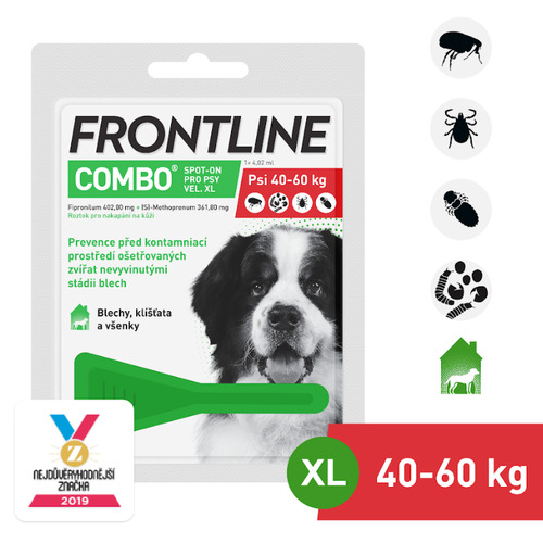 Frontline Combo Spot on Dog XL 1×1 pipeta 4.02ml