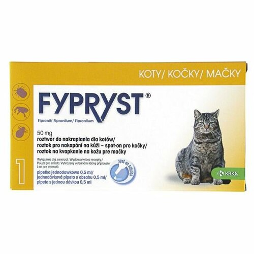 Fypryst Spot-on Cat sol 1×0,5ml