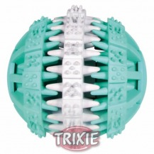 DENTAfun míč s mátou zeleno/bílý 6cm TRIXIE