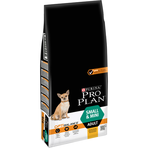 PURINA PRO PLAN Small & Mini Adult OPTIBALANCE s kuřetem 14 kg