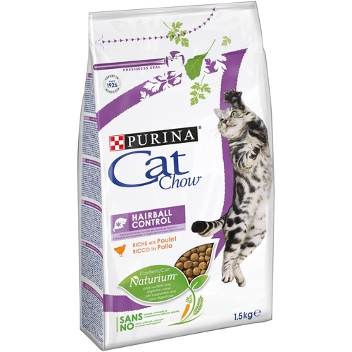 PURINA Cat Chow HAIRBALL 1,5 kg