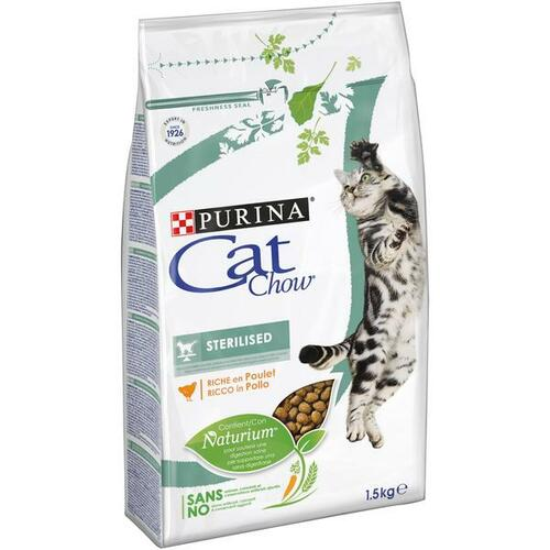 PURINA Cat Chow STERILIZED 1,5 kg