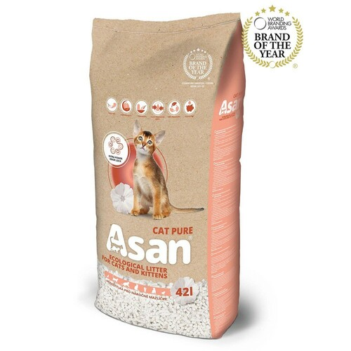 Asan Cat Pure stelivo 45l