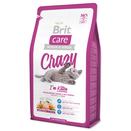 Brit Care Cat Crazy I'm Kitten 2kg