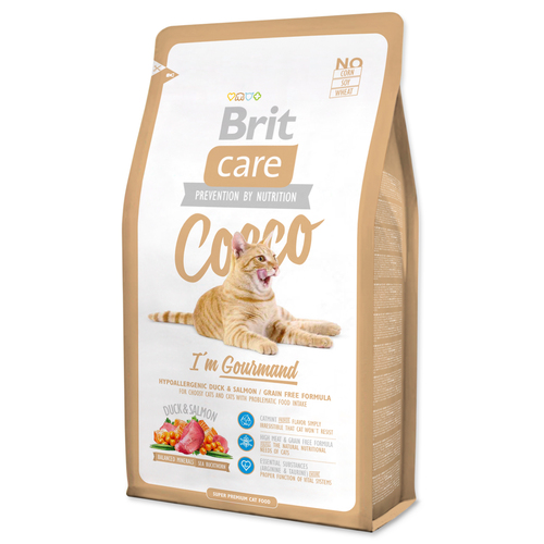 BRIT Care Cat Cocco I'am Gourmand 7kg