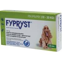 Fypryst spot on Dog M 10–20kg 1×1,34ml