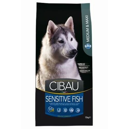 Cibau Dog Adult Sensitive Medium & Maxi Fish & Rice 12 kg