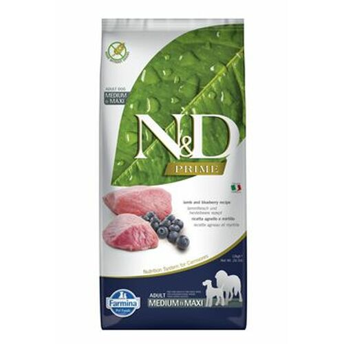 Farmina N & D Grain Free Lamb & Blueberry Adult Dog 12 kg