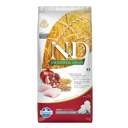Farmina N & D Low Grain Puppy Chicken & Pomegranate 12 kg