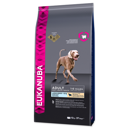 Eukanuba Adult Large Lamb & Rice 12 kg