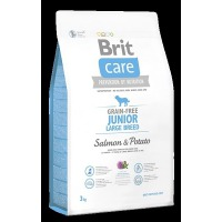Brit Care Dog Grain-free Junior Large Breed Salmon & Potato 3 kg