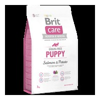 Brit Care Dog Grain-free Puppy Salmon & Potato 3 kg