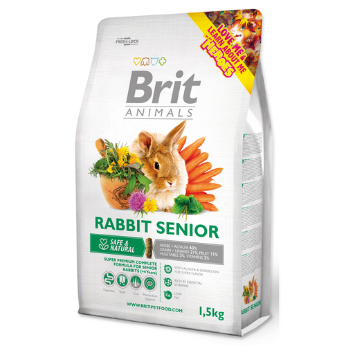 BRIT Animals RABBIT SENIOR Complete (1,5kg)