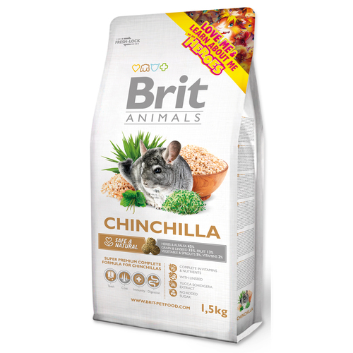 BRIT Animals CHINCHILA Complete (1,5kg)