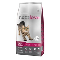 Nutrilove Cat dry Adult fresh chicken 8 kg