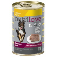 Nutrilove dog paté CHICKEN 400g