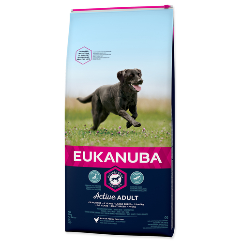 EUKANUBA Adult Large Breed – 15 kg