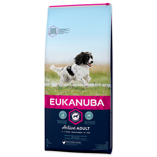 EUKANUBA Adult Medium Breed – 15 kg