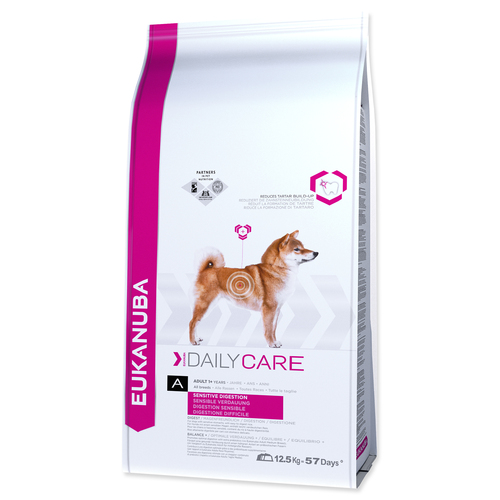 EUKANUBA Daily Care Sensitive Digestion (12,5kg)