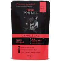 Fitmin for Life Cat hovězí 85 g