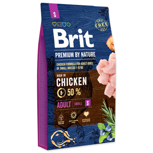 BRIT Premium by Nature Adult S (8kg)
