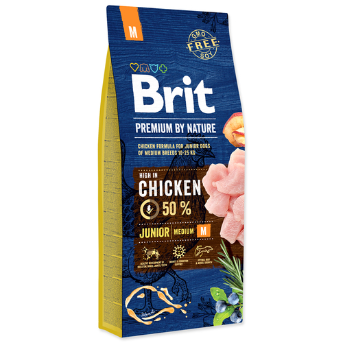 BRIT Premium by Nature Junior M (15kg)