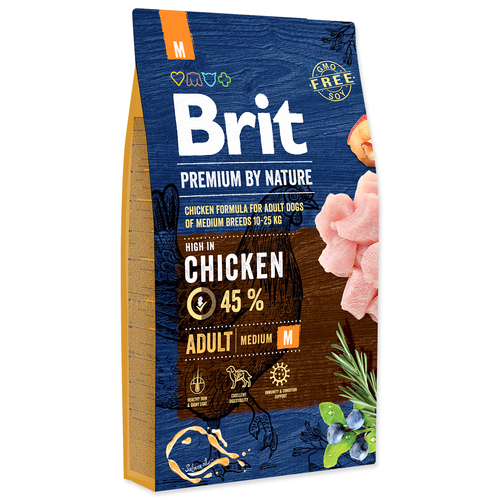 BRIT Premium by Nature Adult M (8kg)