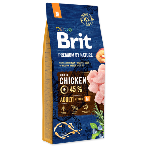 BRIT Premium by Nature Adult M (15kg)