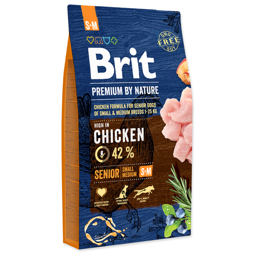 BRIT Premium by Nature Senior S+M (8kg)
