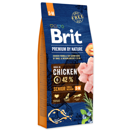 BRIT Premium by Nature Senior S+M (15kg)