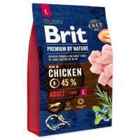 BRIT Premium by Nature Adult L (3kg)