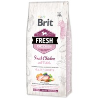 BRIT Fresh Chicken with Potato Puppy Healthy Growth (12kg)