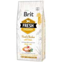 BRIT Fresh Chicken with Potato Adult Great Life (12kg)