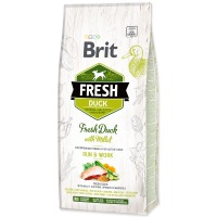 BRIT Fresh Duck with Millet Active Run & Work (12kg)