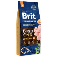 BRIT Premium by Nature Adult M (14,8kg) – NATRŽENÝ PYTEL