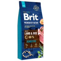 BRIT Premium by Nature Sensitive Lamb (15,5kg) – NATRŽENÝ PYTEL