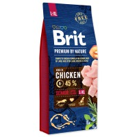 BRIT Premium by Nature Senior L+XL (15,2kg) – NATRŽENÝ PYTEL