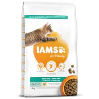 IAMS for Vitality Light in Fat Cat Food with Fresh Chicken (10kg)