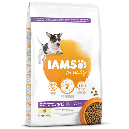 IAMS Dog Puppy Small & Medium Chicken (12kg)