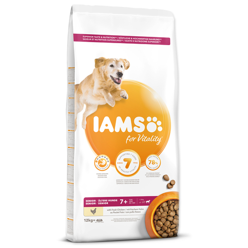 IAMS Dog Senior Large Chicken (12kg)