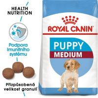 Royal Canin MEDIUM PUPPY 15,1 KG – NATRŽENÝ PYTEL